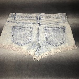 Mossimo Supply Co. Shorts - Mossimo Low Rise Cut Off Crochet Shorts